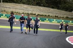 Carlos Sainz Jr., Scuderia Toro Rosso lors de la reconnaissance de piste