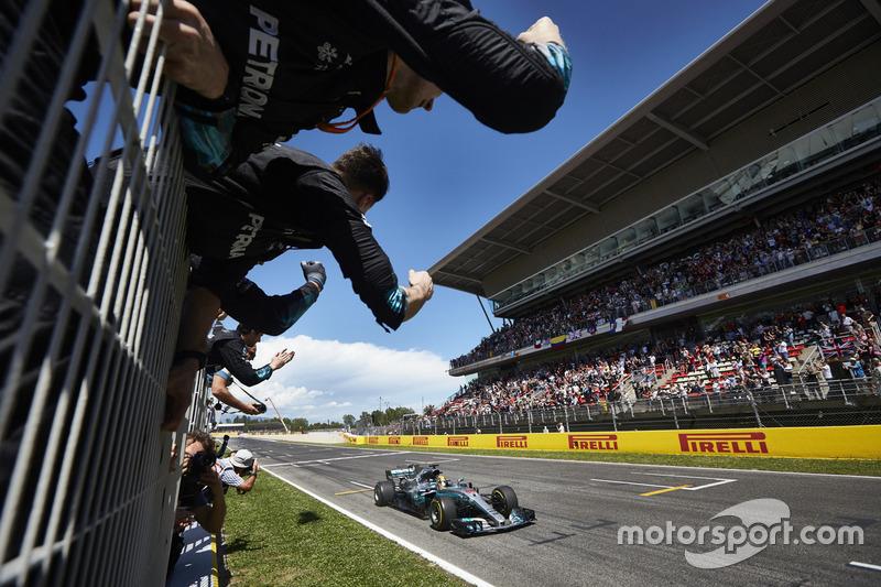 Gran Premio de España 2017, Mercedes