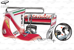 Ferrari SF70H kakasülő, Monaco GP