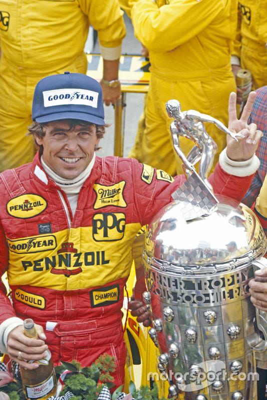 Ganador de la carrera Rick Mears, March 84C Cosworth