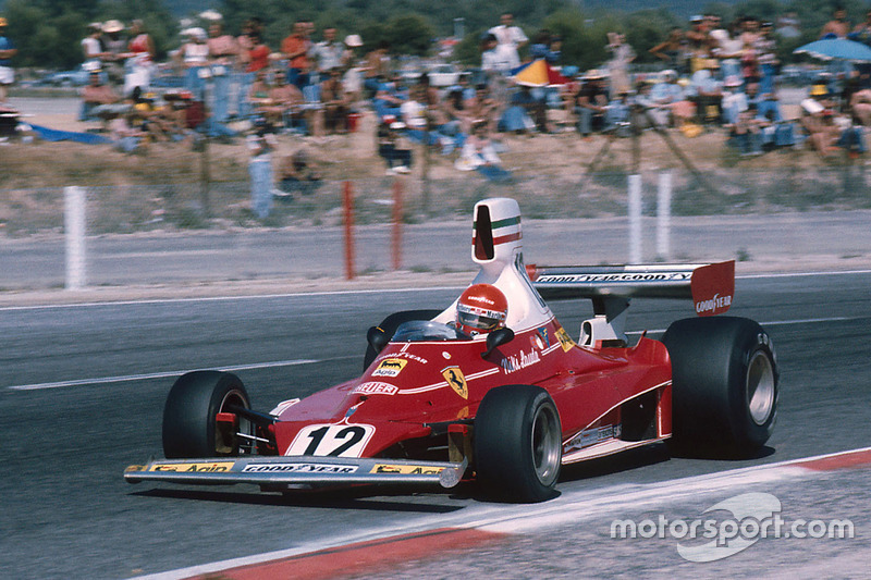 1975-1976: Ferrari 312T (девять побед, титул в КК в 1975-м)