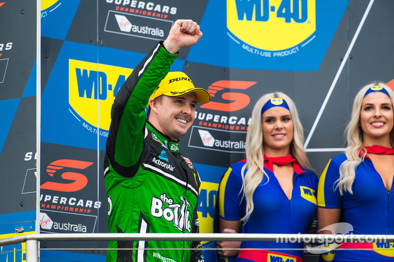 Podium: second place Mark Winterbottom, Prodrive Racing Australia Ford