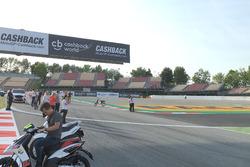 Chicane del circuito de Barcelona