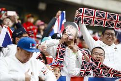Du soutien pour Lewis Hamilton, Mercedes AMG F1