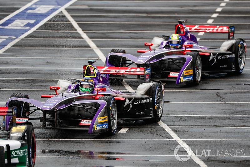 Сем Бьорд (DS Virgin Racing) і Алекс Лінн (DS Virgin Racing)