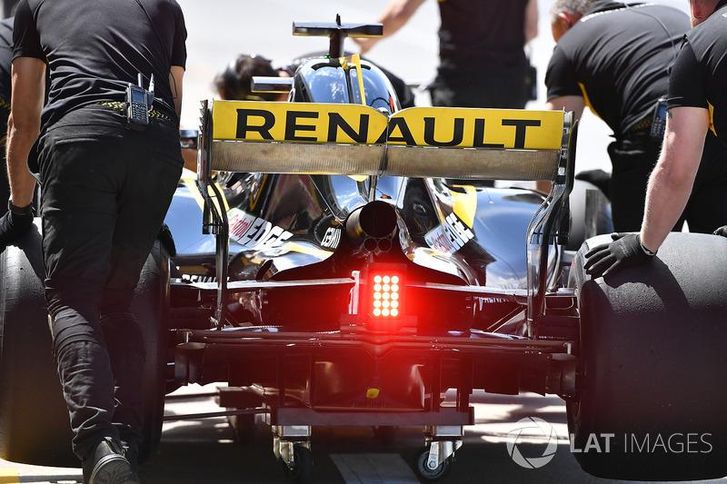 Nico Hulkenberg, Renault Sport F1 Team R.S. 18 rear