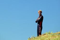 Brendon Hartley, Scuderia Toro Rosso stopped on track in FP1