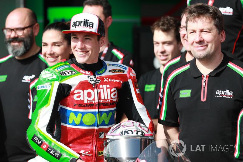 13- Aleix Espargaro, Aprilia Racing Team Gresini