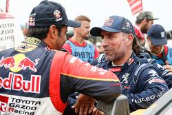 Stéphane Peterhansel, Peugeot Sport, Nasser Al-Attiyah, Toyota Gazoo Racing
