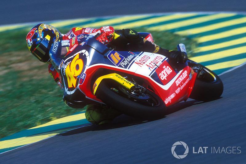 1999. Aprilia RS250 (250cc) - чемпіон, 9 перемог, 309 очок