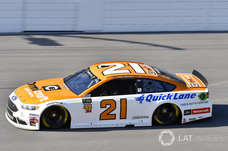 16. Paul Menard, Wood Brothers Racing, Ford