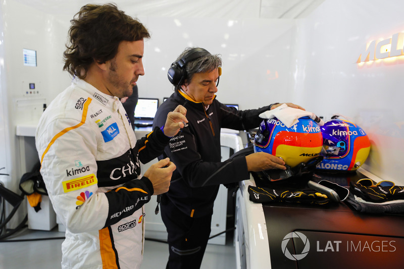 Persiapan Fernando Alonso, McLaren