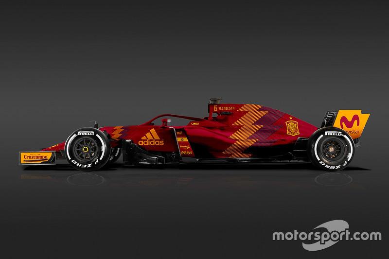 Formula 1 Dünya Kupası tasarımları - İspanya
