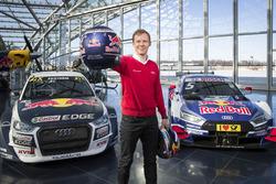 Mattias Ekström mit den EKS Audi S1 quattro WRX und dem  Audi RS5 DTM