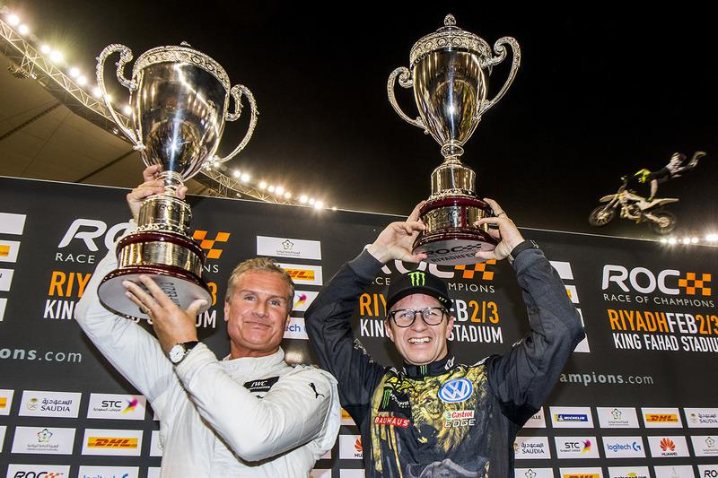 Ganador David Coulthard, segundo lugar Petter Solberg
