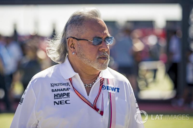 Керівник Force India Віджей Маллья