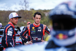 Andreas Mikkelsen, Hyundai Motorsport, Thierry Neuville
