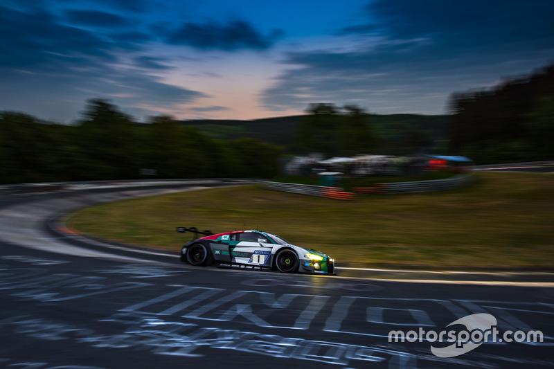 6. #1 Audi Sport Team Land Audi R8 LMS GT3: Christopher Mies, Kelvin van der Linde, Sheldon van der Linde, Rene Rast
