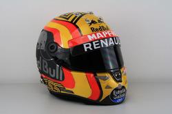 Carlos Sainz Jr., Renault Sport F1 Team helmet
