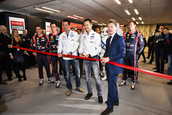 Les pilotes WRC et Malcolm Wilson ouvrent le salon