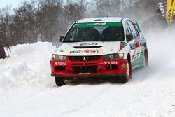 Владимир Васильев и Константин Жильцов, Mitsubishi Lancer Evo IX