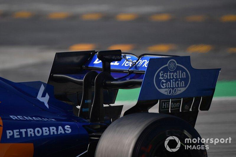 Заднє антикрило McLaren MCL34