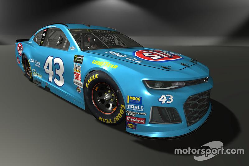 Darrell Wallace Jr., Richard Petty Motorsports, Chevrolet Camaro - NASCAR Heat 3 skin