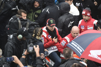 MOTO GP GRAND PRIX D'ITALIE DE MISANO 2018 Jorge-lorenzo-ducati-team-leav