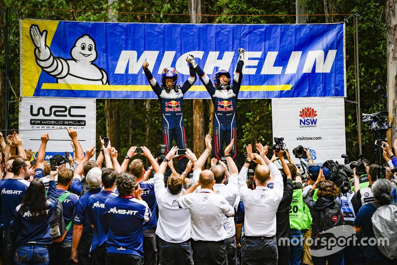 Чемпіони світу 2018 Себастьян Ож'є та Жюльєн Інграссія, Ford Fiesta WRC, M-Sport Ford