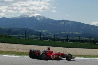 مايكل شوماخر، فيراري أف1 2003 - جي.إيه