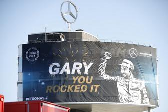 Банер для чемпіона Гарі Паффетта, Mercedes-AMG Team HWA