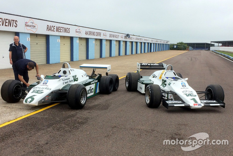 Williams FW08B (6 ruedas) y FW08C (4 ruedas)