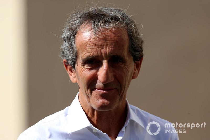 Alain Prost, conseiller de Renault Sport F1 Team