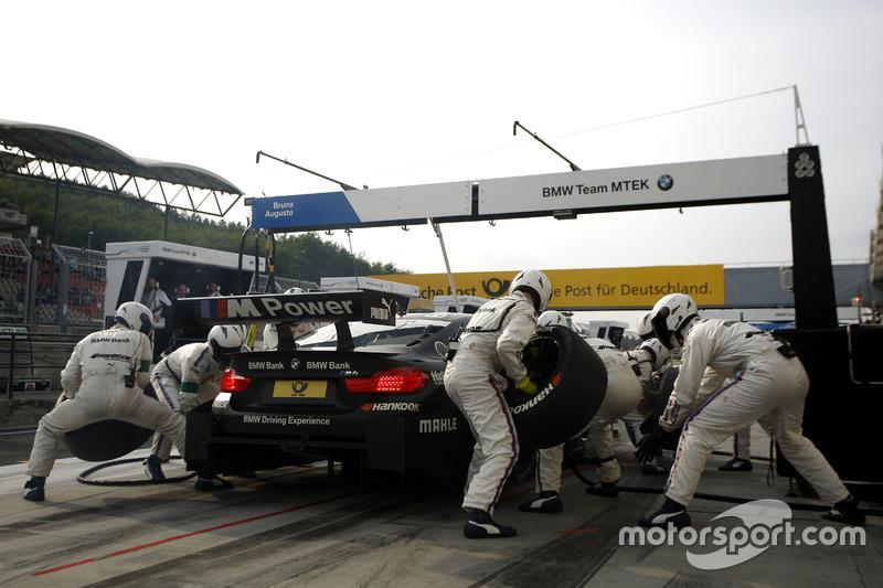 Boxenstopp: Bruno Spengler, BMW Team MTEK, BMW M4 DTM