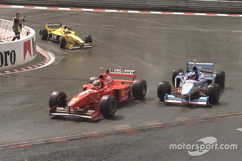4 – Гран Прі Бельгії 1997: Шумахер – людина дощу