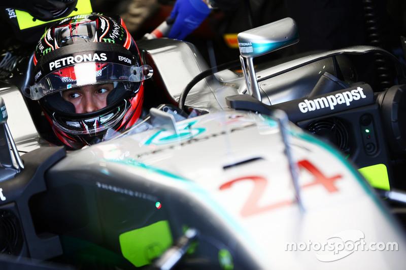 Esteban Ocon, Mercedes AMG F1 W07 Hybrid Piloto de pruebas