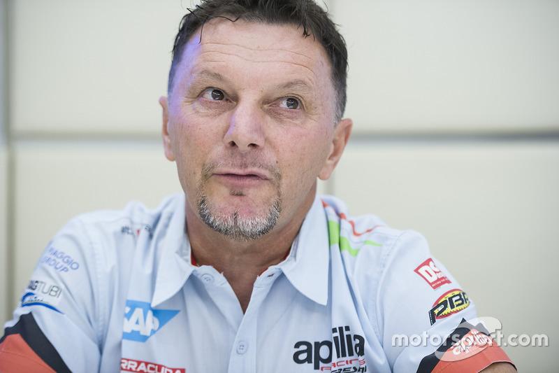 فاوستو غريسيني، مُدير فريق أبريليا