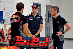 Max Verstappen, Red Bull Racing, beim Werksbesuch