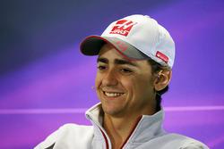 Esteban Gutierrez, Haas F1 Team in the press conference