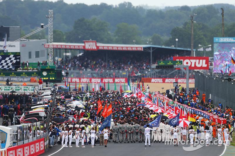 La parrilla de Le Mans 2016