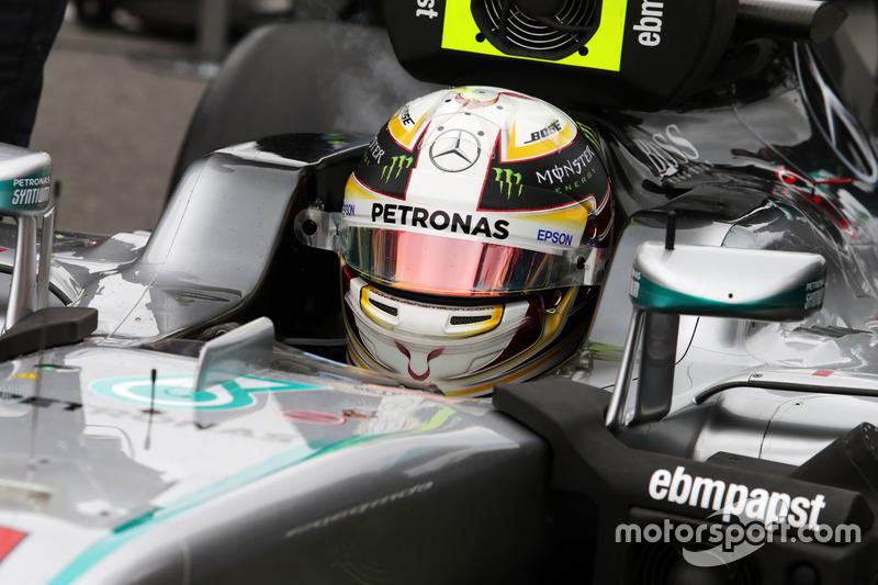 Льюїс Хемілтон, Mercedes AMG F1 W07 Hybrid на стартовій решітці