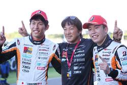 GT300 winners Yuichi Nakayama, Sho Tsuboi, LM corsa