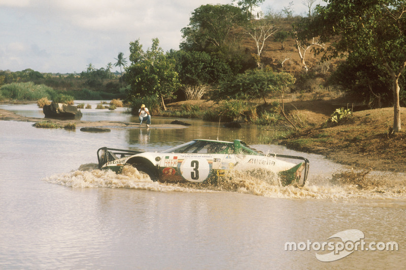 Sandro Munari, Lofty Drews, Lancia Stratos HF