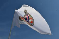 Flagge von Monaco