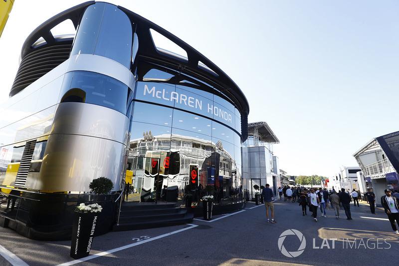 Le motorhome McLaren