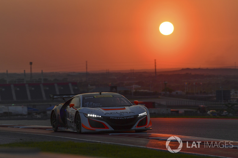 8. #43 RealTime Racing Acura NSX GT3: Ryan Eversley, Tom Dyer