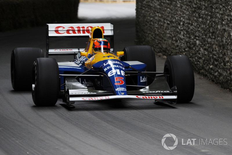 Карун Чандок, Williams FW14B