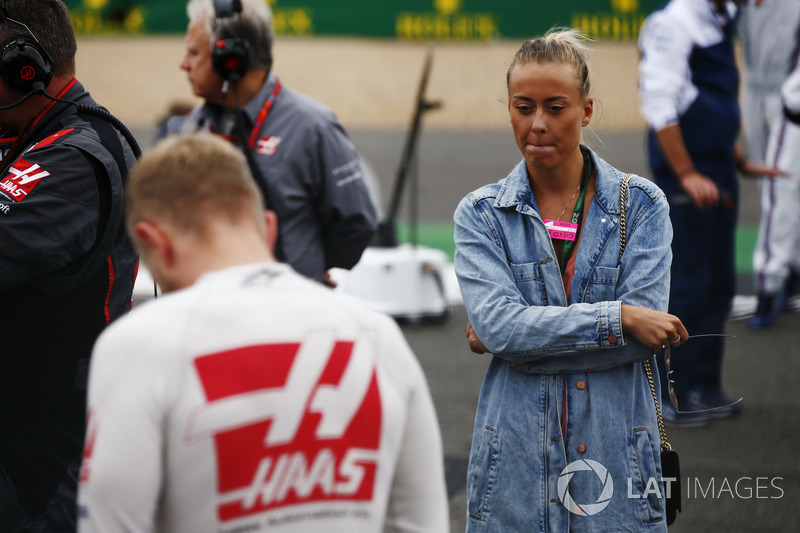 Кевін Магнуссен, Haas F1 Team, дівчина Луіза