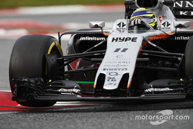 Серхио Перес, Force India VJM10