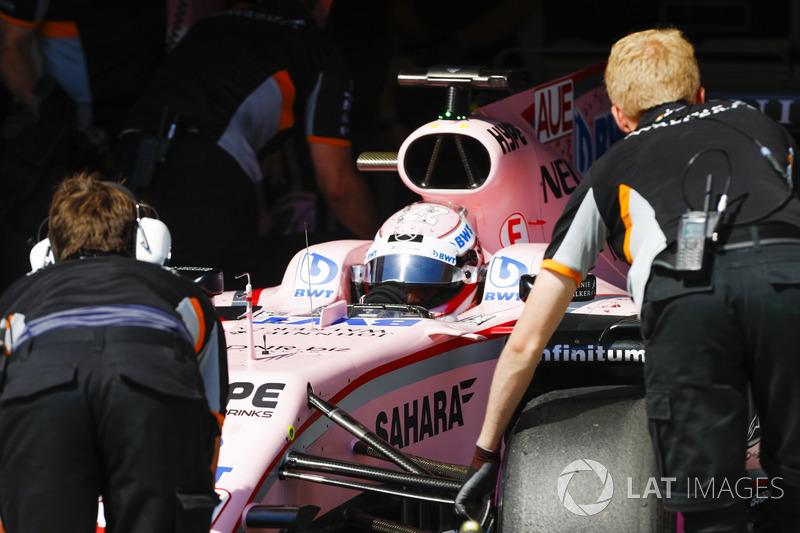 Лукас Ауер, Sahara Force India F1 VJM1
